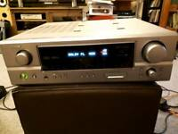 Denon AVR 1707 surround sound AV RECEIVER
