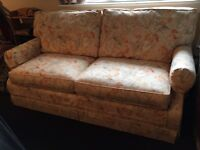 Sofa bed. Easily converts to small double bed.