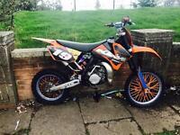 2010 KTM SX 85cc 2 STROKE CROSSER NOT rm yz kx yzf pitbike pit bike
