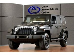 2018 Jeep Wrangler ALTITUDE 4X4 CUIR NAV HITCH 2 TOITS