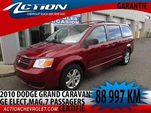 2010 Dodge GRAND CARAVAN SE PLUS,stow and go,MAG