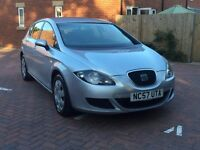 Silver Seat Leon 1.9l TDI Diesel. Good condition, well looked after, 85,000 miles