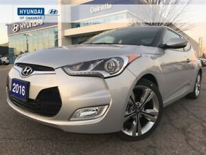 2016 Hyundai Veloster TECH PKG | M/T | NAVI | PAN ROOF | LEATHER
