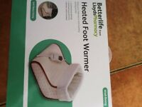 Betterlife heated foot warmer new