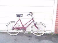 Vintage Childs bicycle restored