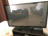 "50"" LG television"