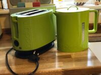 Bodum toaster and kettle
