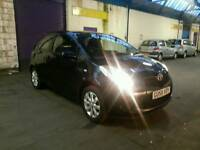 Toyota yaris 1.0 petrol 58 reg 3 door black