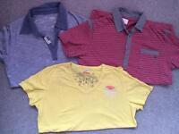 3 small diesal tshirts
