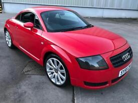 Stunning 2005 55 Audi TT 1.8Turbo 190 **1 Years Mot+Leather+Heated Seats**