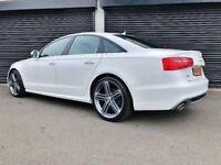 2014 AUDI A6 S LINE ULTRA 2.0 TDI 190 A4 A5 A7 BMW 320D M SPORT JAGAR XE XF Q5 Q7 BMW X5 PASSAT