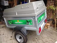 Trailer for sale, Daxara 127 with Erde 122 hardtop, excellent condition.