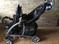 Gracco tandem / double pushchair/ buggy