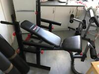 Bodymax Olympic Set Equipment(bench,rack,weights,bars)