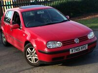 Volkswagen golf 1.4s 5door great condition 10months mot RELIABLE CAR