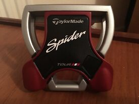 Brand new taylormade spider putter