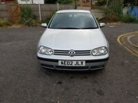 2002 Volkswagen Golf 1.9 SDI E 5dr Manual @07445775115
