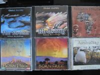 African music, birdsong and relaxation CD's