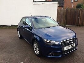 2013 AUDI A1 1.6 TDi SPORT 5DR SPORTBACK. FSH. LADY OWNER. GENUINE REASON FOR SALE