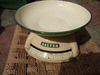 Vintage 1950's Salter kitchen scales