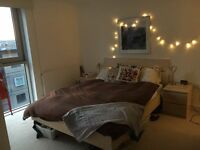 Double room with en suite in friendly flat – couples welcome!