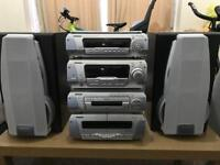 Technics hifi separates 5. Cd changer and aux in EH770