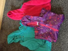 Girls jackets and fleece