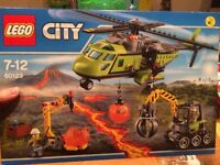 LEGO: Volcano Supply Helicopter 60123 (Near New)