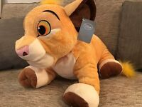 Simba The Lion King Disney Store Exclusive Plush Soft Toy