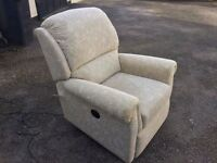Sherborne Electric Reclining Chair - As New