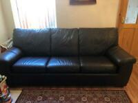 Brown Sofa Bed from Dfs