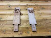 Choice of two ifor williams drop side trailer centre posts