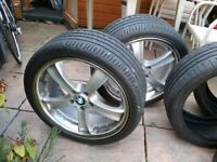 Bmw 19'' wheels and tyres