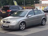 VAUXHALL SIGNUM 2,0 DTI TURBO DIESEL 2004 SILVER 10 MONTHS MOT STARTS AND DRIVES PERFECT P/X WELCOME