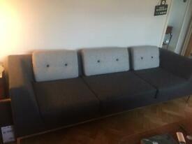 3 seater Allemuir Octo sofa