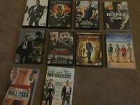Selection of Action and Comedy DVDs for Sale