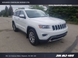 2014 Jeep Grand Cherokee Limited AWD  NAVIGATION  HEATED FRONT A