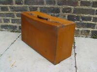FREE DELIVERY Retro Leather Suitcase Vintage Case O