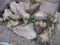 ROCKERY GARDEN ROCKS