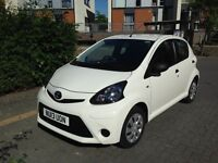 Toyota Aygo for sale, very low mileage.