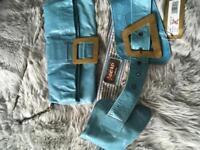 Jocasi Leather Belt and Handbag