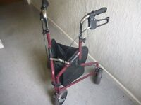Tri Walker Simply Med 3 Wheel