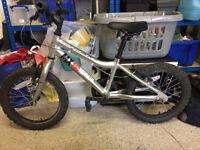 Ridgeback MX16 child's mountain bike 16 inch wheels