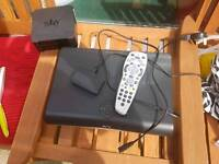 Sky+ HD digibox plus control and wifi receiver