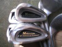 Full Set of Golf Irons + Matching Driver - £15.00