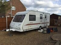 Bargain Elddis Odyssey 524 (4) Berth Caravan 2002 V.G.C With Motor Mover,First To See Will Buy