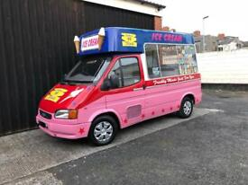 Ford Transit Ice Cream Van - 1994 M - Hard Scoop Icecream Van - Full MOT - SWB Diesel