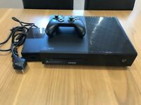 Xbox One with controller & games