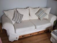 DFS Danielle Sofas, Chair and Footstool