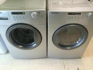29- Laveuse Sécheuse Frontales SAMSUNG  Steam Frontload Washer and Dryer